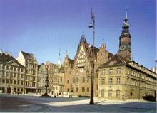 Rathaus zu Breslau (Wrocław)