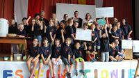 TEAM KITZINGEN: Preisübergabe an den Kinderhort Randersacker